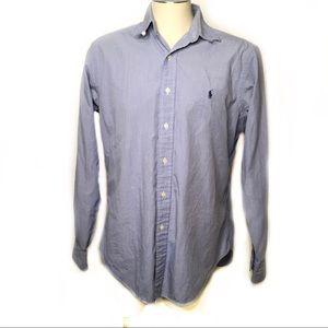 Polo Ralph Lauren light blue long sleeve 15 1/2-35